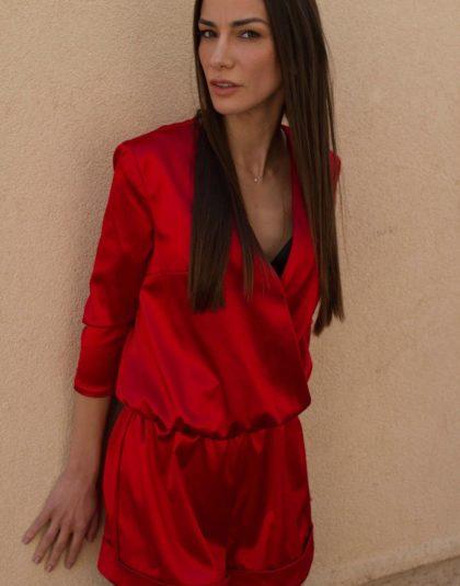 Mandre Red jumpsuit - 01