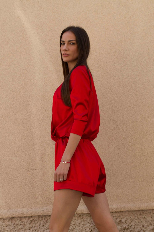 Mandre Red jumpsuit - 03