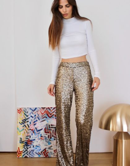 Faith Gold Pants